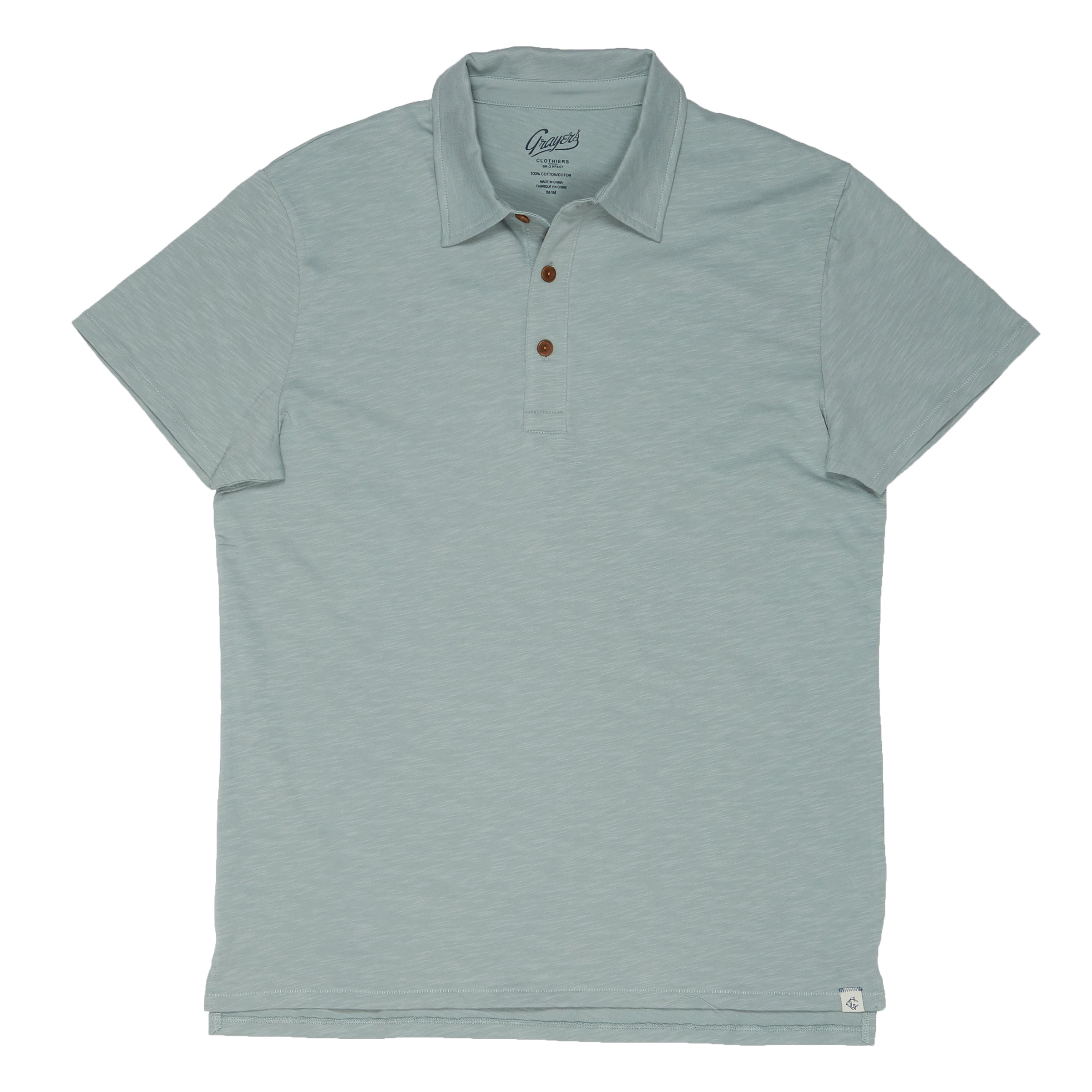 Almar Solid Jersey Polo - Abyss