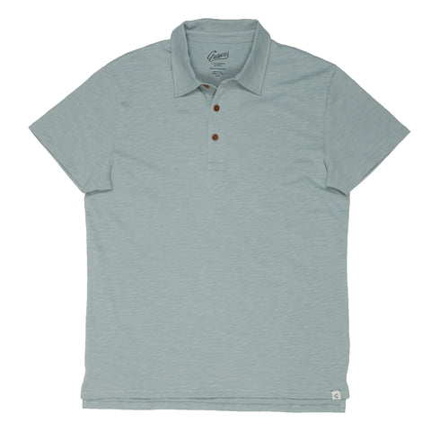 Almar Solid Jersey Polo - Abyss-Grayers