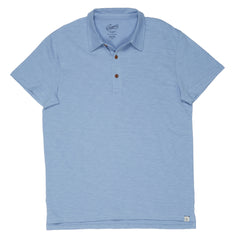 Almar Solid Jersey Polo - Forever Blue-Grayers