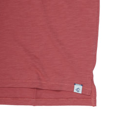 Almar Solid Jersey Polo - Cranberry-Grayers