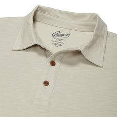 Almar Solid Jersey Polo - Faded Gray-Grayers