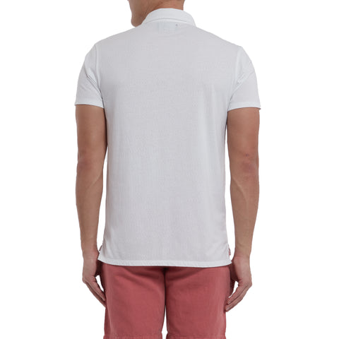 Bayshore Marl Polo - Optical White-Grayers