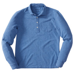 Ainsworth Pique Polo - Blue Heather