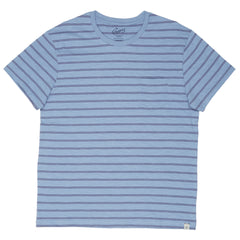 Feeder Stripe Pocket Tee - Forever Blue-Grayers