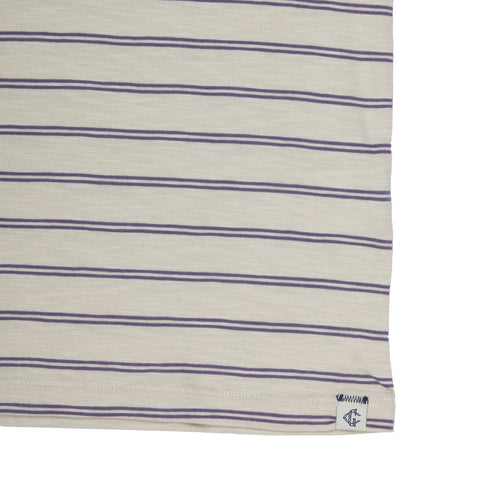 Feeder Stripe Pocket Tee - Faded Gray-Grayers
