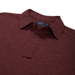 Hartford Nep Jersey Polo - Grape-Grayers