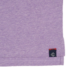 Hartford Nep Heather Jersey Polo - Lavender-Grayers