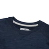 Boy's Montague Twill Terry Crew - Navy Heather