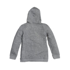 Boy's Montague Twill Terry Hoodie - Gray Heather-Grayers