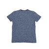 Boy's Jaspe Stripe Tee - Blue Chalk Jaspe