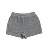 Boy's Montague Twill Terry Drawcord Shorts - Gray Heather