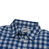 Boy's Grange Shadow Gingham - Blue Cream