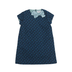 Girl's Printed Sunday Dress - Floral Print-Grayers