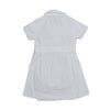 Girl's Embroidery Wrap Dress - White