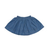 Girl's Pull On Skirt - Blue Chambray