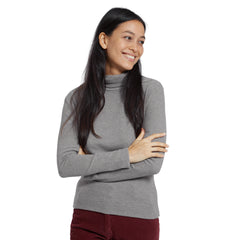 Catherine Turtleneck - Gray