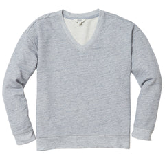 Wedge Sweatshirt - Light Blue Heather