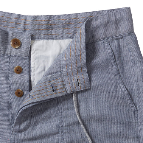 Twiggy Pants - Blue Chambray