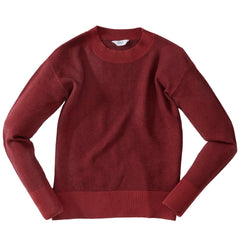 Arandel Slim Crew Sweater - Truffle Chili