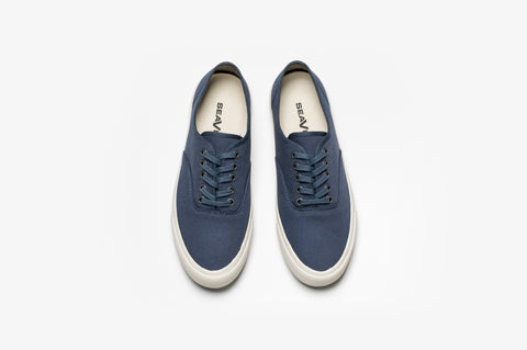 SeaVees Legend Sneaker Standard - True Navy Twill-Grayers