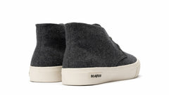 Grayers X SeaVees Mason Desert Boot - Charcoal  Wool