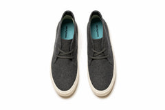 Grayers X SeaVees Mason Desert Boot - Charcoal Wool-Grayers