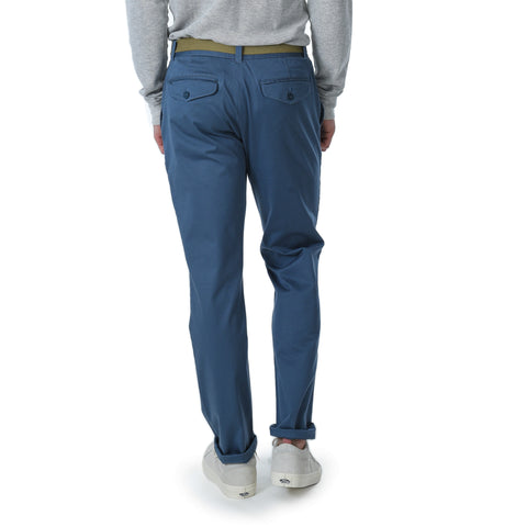 Newport Stretch Modern Fit Chino - Med Blue