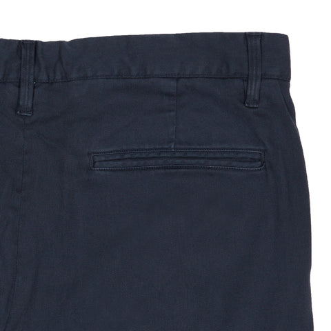 Bermuda Cotton Linen Stretch Slim Fit Pants - Blue Night-Grayers