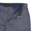 Bermuda Cotton Linen Stretch Slim Fit Pants - Grisaille-Grayers