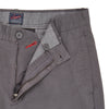 Twill Newport Slim Fit Chino - Mid Gray