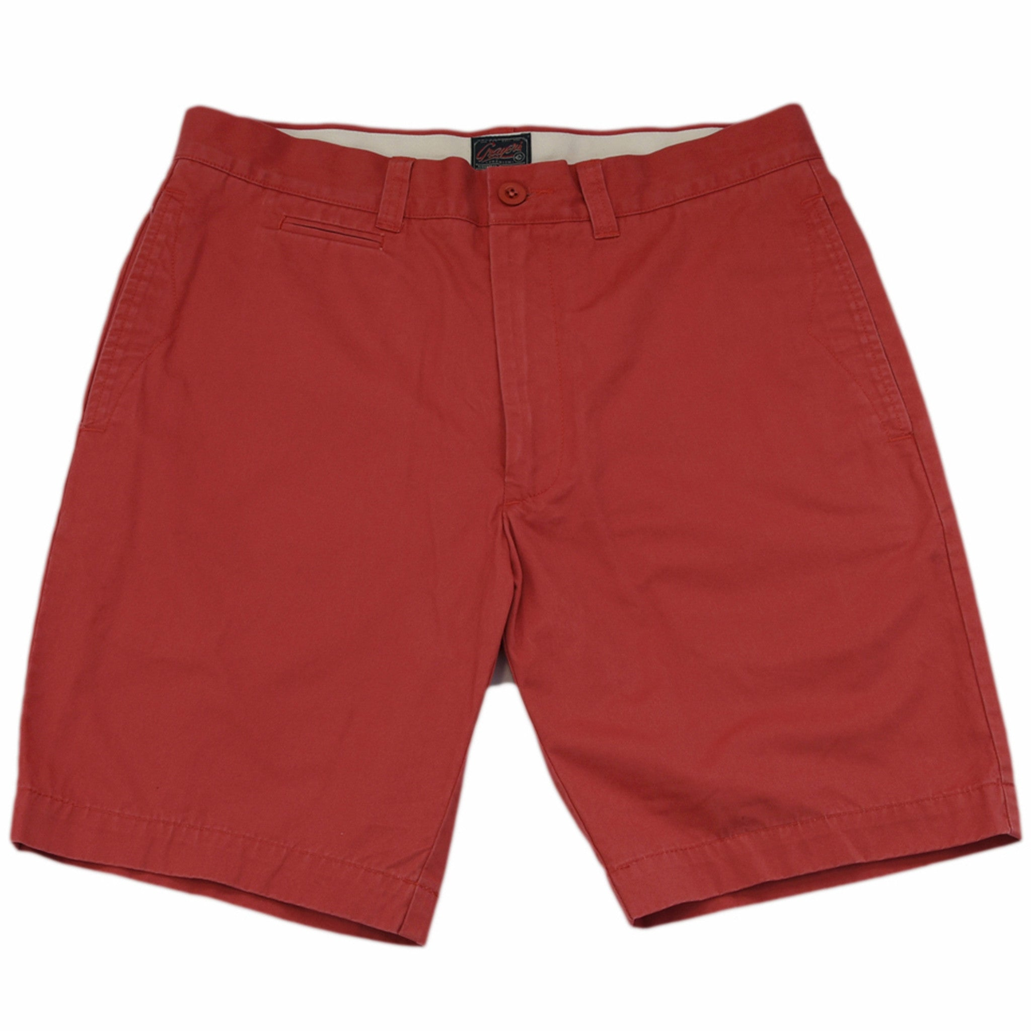 "9"" Newport Classic Club Short - Red"
