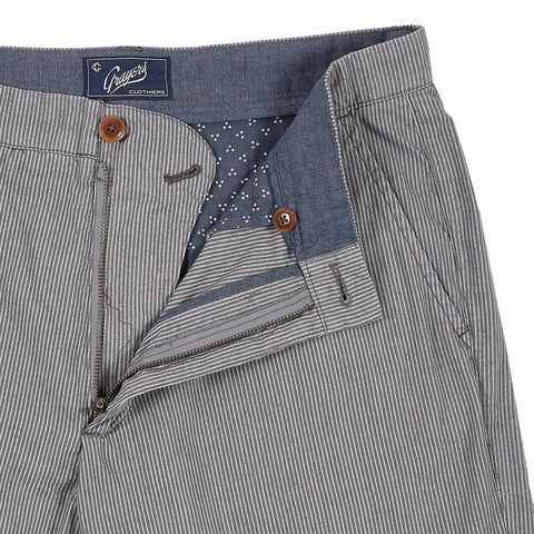 "Maidstone Stripe Shorts  9"" - Frost Gray"