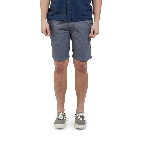 "Maidstone Stripe Shorts 9"" - Grisaille Blue-Grayers"