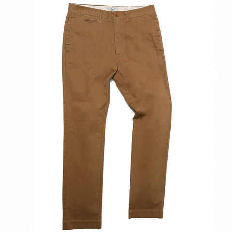 Newport Modern Fit Stretch Chino - Saddle