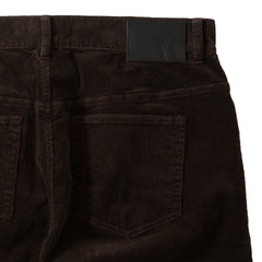 Burlington 5 Pocket Stretch Corduroy  - Coffee Bean
