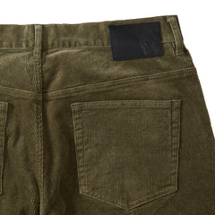 Burlington 5 Pocket Stretch Corduroy  - Dusty Olive