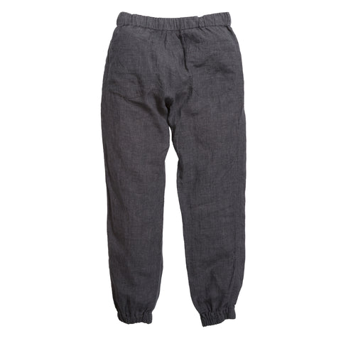 Aventura Washed Linen Jogger - Charcoal