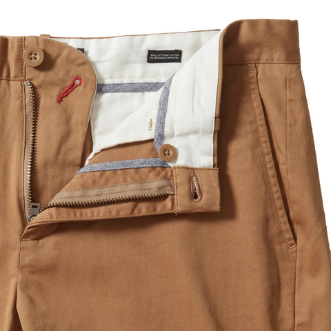 Jesse Stretch Chino Pants (Slim Fit) - British Tan