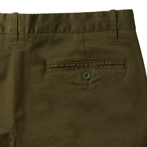 Jesse Stretch Chino Pants (Slim Fit) - Olive