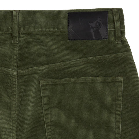 Burlington 5 Pocket Stretch Corduroy - Dusty Olive-Grayers