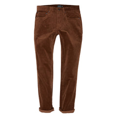 Burlington 5 Pocket Stretch Corduroy - British tan-Grayers