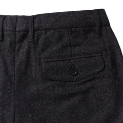 Matheson Heavy Twill Stretch Wool Pants (Slim fit) - Charcoal