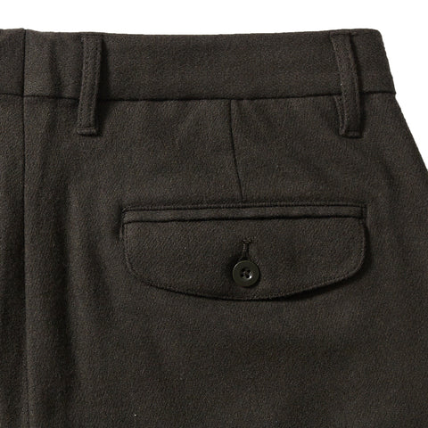 Matheson Heavy Twill Stretch Wool Pants (Slim fit) - Olive