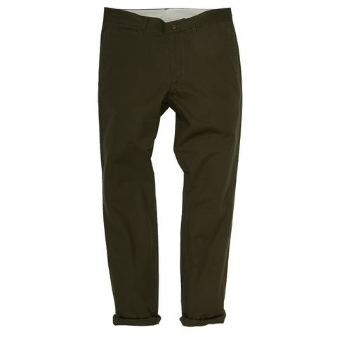 Newport Canvas Stretch Pants - Dark Olive-Grayers