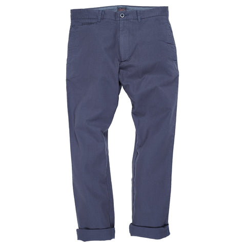 Newport Canvas Stretch Pants - Grisaille Blue