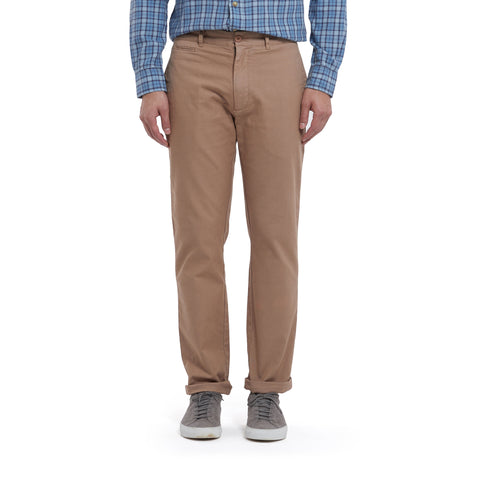 Newport Canvas Stretch Pants - Light Saddle-Grayers