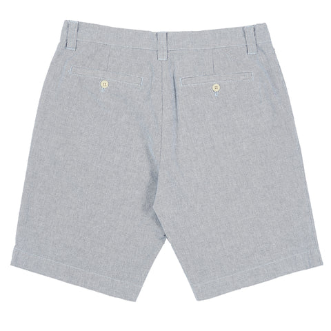 Eastvale Yarn Dyed Canvas Shorts - Blue-Grayers