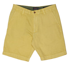 Bermuda Stretch Cotton Linen Shorts 9