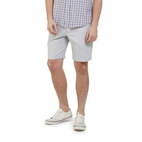 "Newport Canvas Stretch Shorts  9""- Lunar Rock"