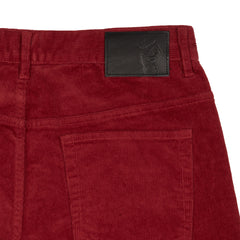 Burlington 5 Pocket Stretch Corduroy - Crimson-Grayers